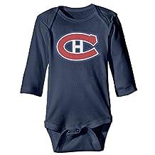 Montreal Canadiens Logo Newborn Romper Bodysuit