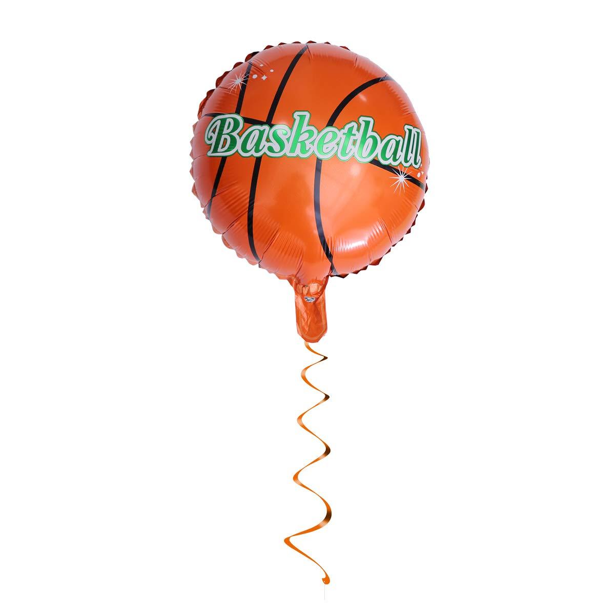 Toyvian 6 Globos de Baloncesto de 18 Pulgadas con diseño de balón ...