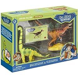 Dinosaur Collection - Two Pack- Velociraptor & Brachiosaurus