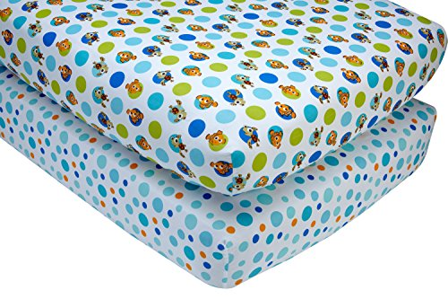 Disney Nemo 2 Piece Crib Sheet Set -