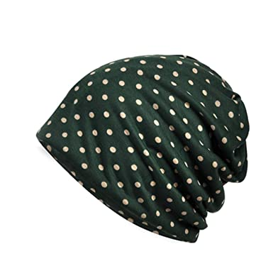 Aesy Womens Cotton Summer Winter Chemo Hat Beanie Scarf for Cycling  Running- Breathable Lightweight 0b126b9415c5