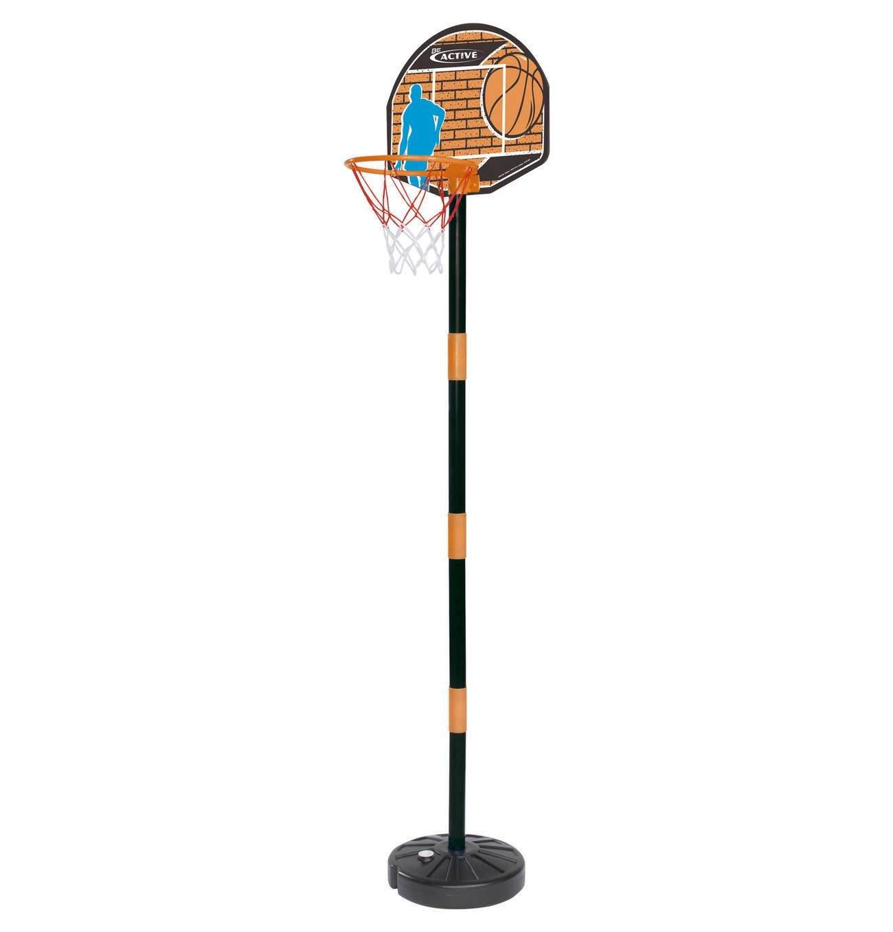 With Mini Basketball Board Basket Net Standing Poles Air Pump Simba Mini Basketball Set Height 40 to 160 cm