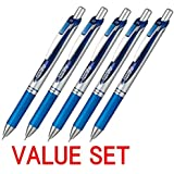 Pentel New EnerGel Deluxe RTX Retractable Liquid Gel Pen,Ultra Micro Point 0.3mm, Fine Line, Needle Tip, Blue Ink Value…