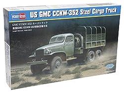 Hobby Boss GMC CCKW-352 Steel Cargo Truck Model Kit from MMD Holdings, LLC