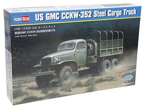 Hobby Boss GMC CCKW-352 Steel Cargo Truck Model (Gmc Military Trucks)