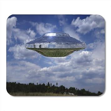 Alfombrillas para ratón UFO Escena de ciencia ficción Nave ...