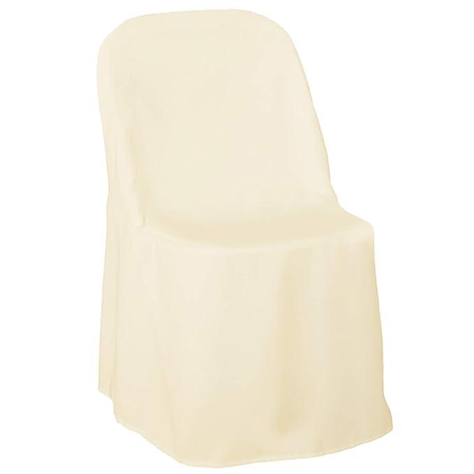 Amazon.com: Lanns Linens Funda para silla plegable de ...