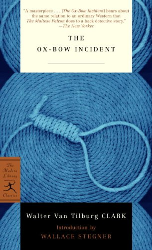 book cover of The Ox-Bow Incident
