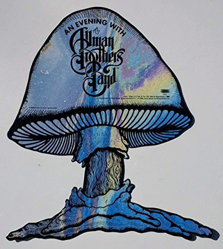 (oddtoes concert posters and music memorabilia The Allman Brothers Band an Evening with Promotional Mushroom for Melissa 1992)