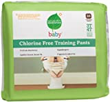 Seventh Generation Chlorine Free Training Pants, 3T-4T, (32-40 Lbs), 26 Count (Pack of 4)