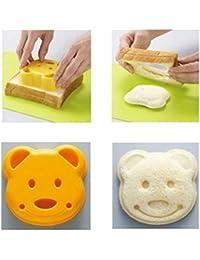Gain 1 Pcs Little Bear Shape Sandwich Mold Bread Cake Mold Maker DIY Mold Cutter Craft online