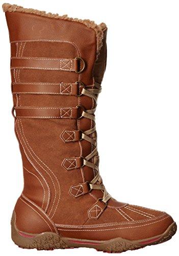 Pajar Vrouwen Aventure Boot Cognac