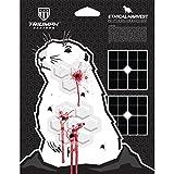 animal targets for shooting - Ethical Harvest Prairie Dog Silhouette | 3-Pack | Critter Target | Varmint Target | Animal Target | Gopher Target | Ground Hog Target