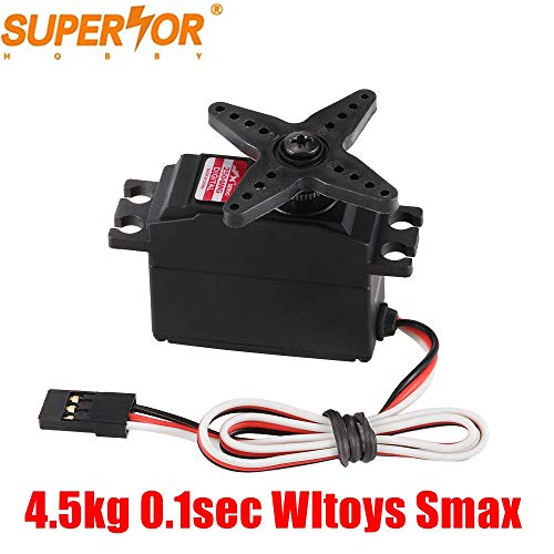 - JX PDI-2504MG 6V 0.1 sec 4.5kg core Metal Gear Digital Core Servo for RC 450 500 Helicopter Fixed-Wing Airplane 1/18 car Remo Hobby Smax wltoys 12428