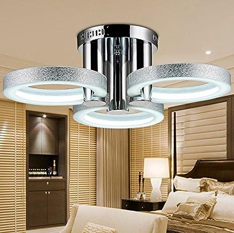 PitengTM LED moderna lámpara de araña lámpara de techo con 3 ...