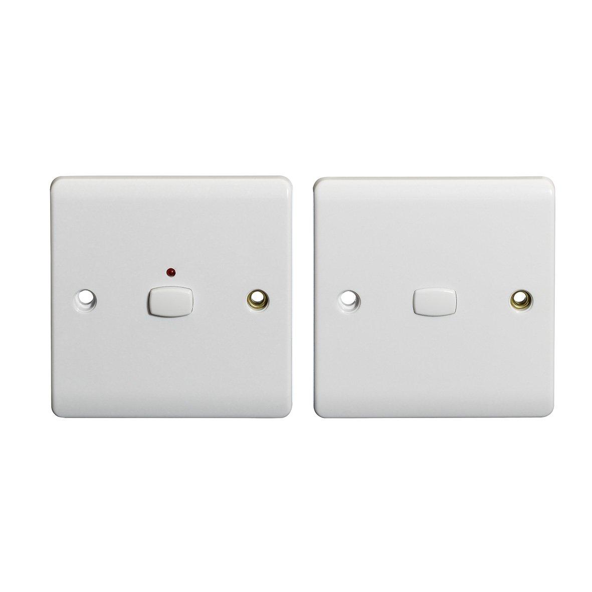 Energenie MIHO043 Alexa Compatible MiHome 2-Way Light Switch, 250 W ...