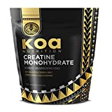 100% Creatine Monohydrate Powder by Koa Nutrition | Scientifically-Proven, Micronized Muscle Building Supplement - 1lb Bag