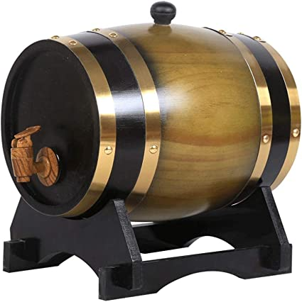 FEIFEI Dispensador de agua de barril revestido barril de ...