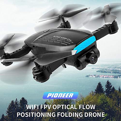 OMLTER Drones GPS Plegables con cámara para Adultos, WiFi FPV ...