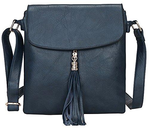 pour main Handbag à femme Taille Shop bandoulière Navy Design Sac Big M 4 FwYgHICqC