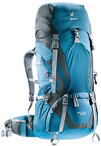 Deuter Act Lite 65+10 Hiking Backpack - Discontinued, Arctic/Granite ()