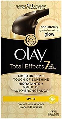 Olay Total Effects 7 en 1 Crema Hidratante de luz Sun-Kissed ...