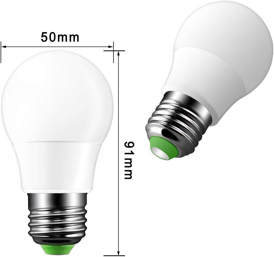 2PCS ONEVER 5W RGB lampadina del LED E27 di colore LED Modo Fade Lampada Flash Strobe Bar KTV luci decorative Cambiare atmosfera luminosa