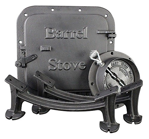 wood barrel stove kit - 3