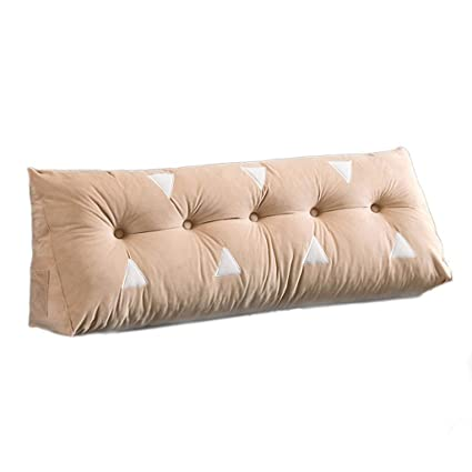 Amazon.com: Cojín de algodón para la cabeza de la cama ...