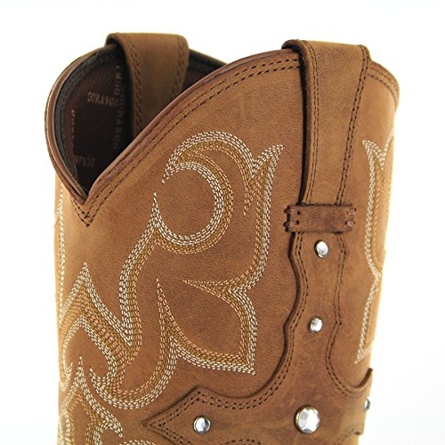 FB Fashion Boots Women's Drd0090 Cowboy Boots Tan IOuCDc18