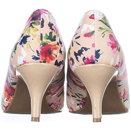 Karen Scott Womens Mory Peep Toe Classic Pumps Rose Multi zCRJri