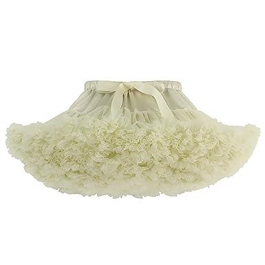 2b3b7910efcc AMLLY Women's 50s Vintage Rockabilly Petticoat Puffy Tulle Tutu Skirt  Crinoline Underskirt