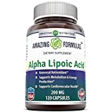 Amazing Nutrition Alpha Lipoic Acid - 200mg, 120 Capsules