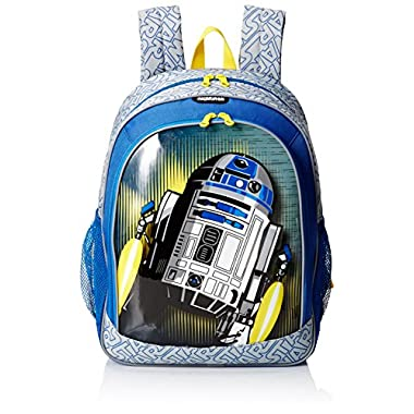 American Tourister Disney Star Wars R2D2 Backpack Softside, Multi, One Size