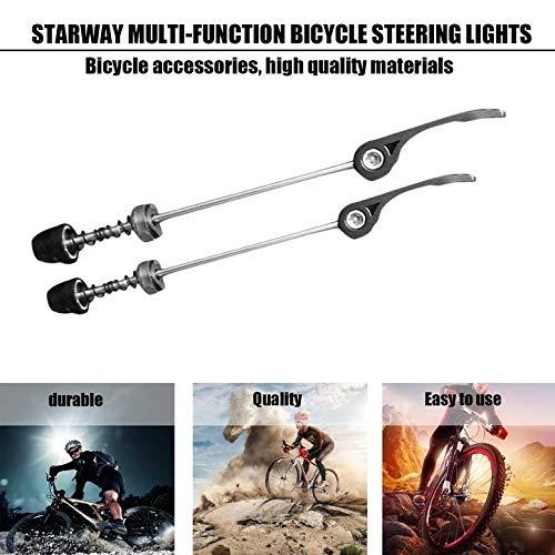 und Hinterachse 145 Fahrradr/äder Spie/ß MTB-Spie/ß Fahrrad-Schnellspanner Vorder 185mm
