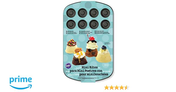 Amazon.com: Wilton 2105-2176 24-Cavity Dessert Shell, Mini: Kitchen & Dining