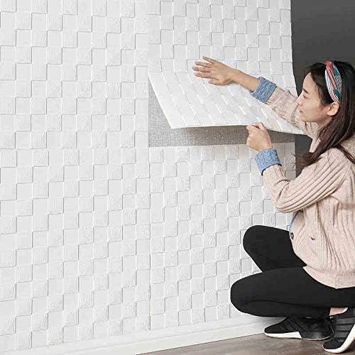 Takarafune 3D 立体 壁紙シール クッションシート 防音シート