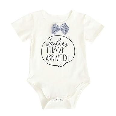 5ea1a0bd1f8 Amazon.com  LNGRY Baby Romper