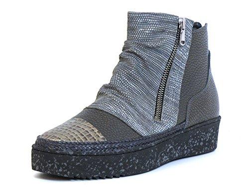 Grau Boots 06 24 Women grau Ankle 7 grey Softwaves 8x0gqwOE0
