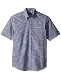 Men's Short Sleeve Button-Down Shirt