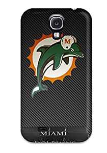 Awesome Miamiolphins Flip Case With Fashion Design For Galaxy S4