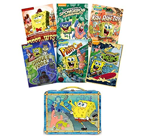 Series Spongebob Squarepants (Ultimate Spongebob Squarepants DVD Collection: Volume 1 (6-DVD Set + Bonus Lunchbox) - Pest of the West/Adventures of Spongebob/Extreme Kah-Rah-Tay/Gouls Fools/The Great Patty Caper/The Big One)