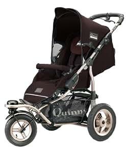 Quinny 65803440 Freestyle 3XL - Silla de paseo con cesto de compras (3 ruedas), color marrón