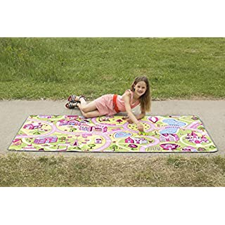 """Learning Carpets At the Fun Fair Play Carpet Toy, 36""""x79"""""""