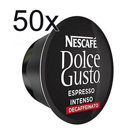 Cheap 50 X Nescafe Dolce Gusto Coffee Capsules – ESPRESSO INTENSO DECAFFEINATED