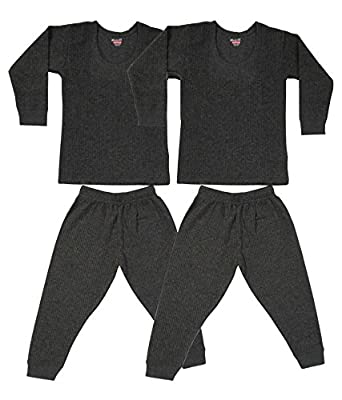 5e22b6f4212 Bodycare Infant Boys and Girls Thermal Inner wear Set (Pack of 2)  Amazon.in   Clothing   Accessories