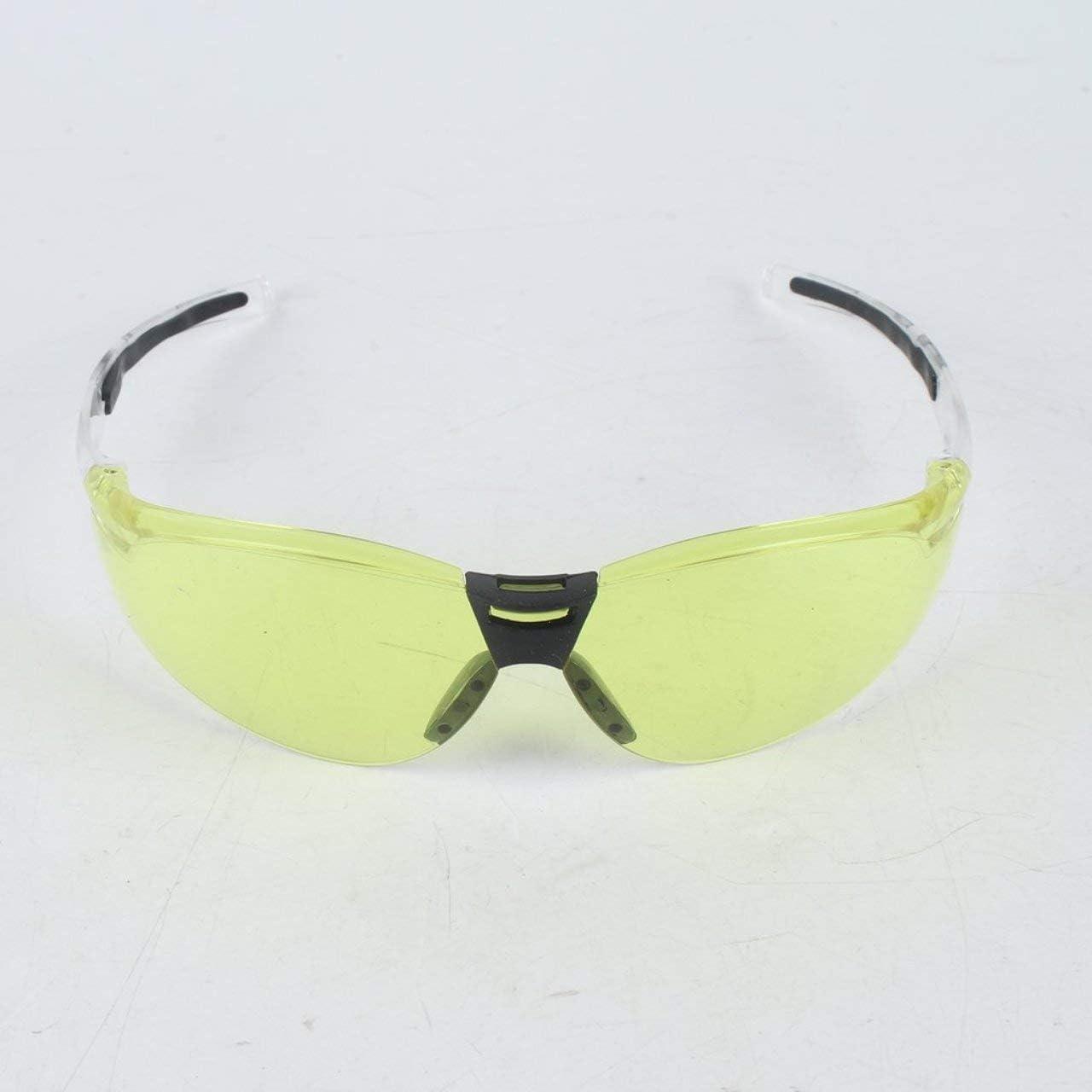 Gelb PC Schutzbrille UV-Schutz Motorradbrille Staub Wind Spritzwassergesch/ützt Hochfeste Schlagfestigkeit f/ür Reiten Radfahren DEjasnyfall
