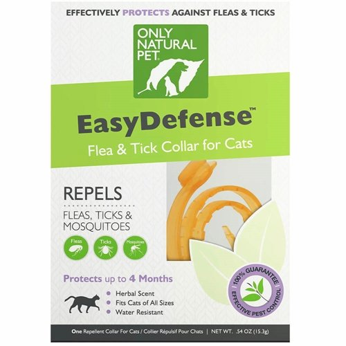 Only Natural Pet EasyDefense Flea & Tick Cat Collar from Only Natural Pet