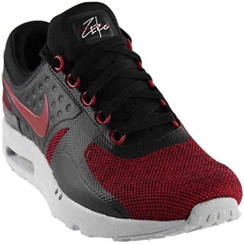 Nike Mens Air Max Zero Se Scarpa Da Corsa Nero Dura Rosso Puro Platino