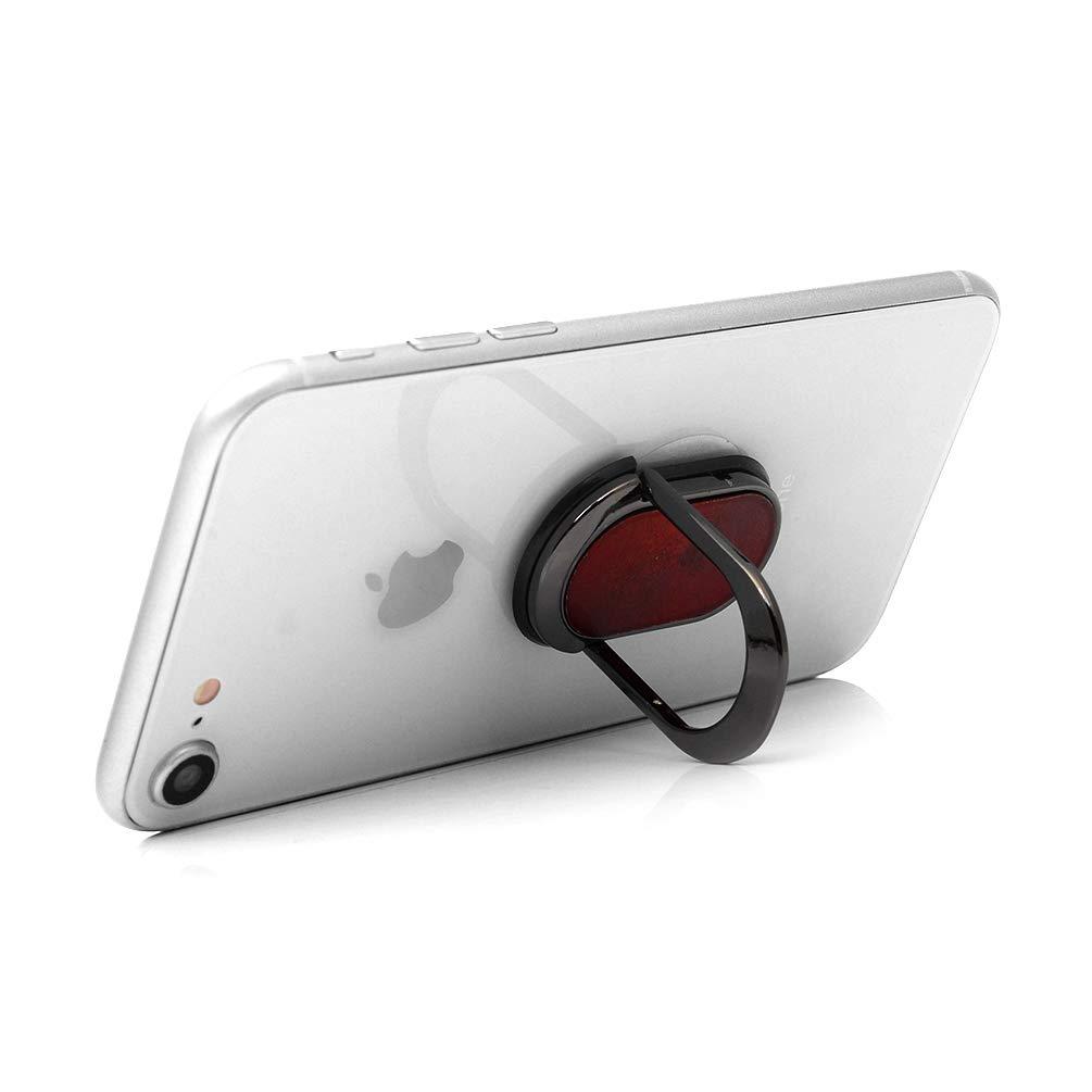 Rectangulaire M/étal Doigts Grip Support Ring//Support de Voiture Rotation /à 360 /º t/él/éphone pour Tablette Smartphone Anneau Support Phone Ring,Argent Anneau Support Bague T/él/éphone